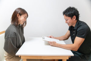 松江市のマンツーマンパーソナルトレーニングジムVISIL無料カウンセリング