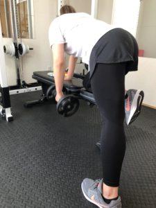背中のトレーニング